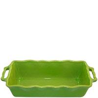 Форма для кекса Appolia зеленого цвета из керамики 33см х 13.5см, фото