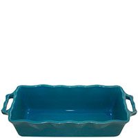 Форма для кекса Appolia голубого цвета из керамики 33см х 13.5см, фото