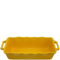 Форма для кекса Appolia 33х13,5см желтого цвета из керамики, фото