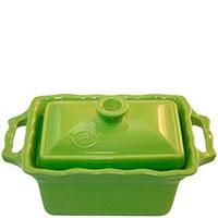 Керамическая форма Appolia 700мл зеленого цвета с крышкой, фото