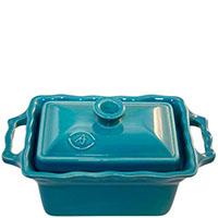 Керамическая форма Appolia 700мл голубого цвета с крышкой, фото
