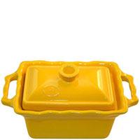 Керамическая форма Appolia 700мл желтого цвета с крышкой, фото