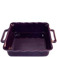 Керамическая квадратная форма для выпечки Appolia фиолетового цвета 24.5см, фото
