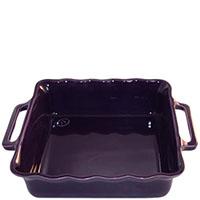 Керамическая квадратная форма для выпечки Appolia фиолетового цвета 27.5см, фото