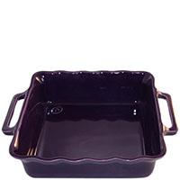 Керамическая квадратная форма для выпечки Appolia фиолетового цвета 31 см, фото