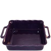 Большая керамическая форма для выпечки Appolia фиолетового цвета 34,5см, фото