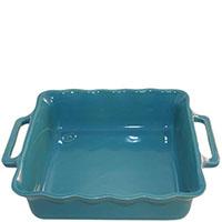 Большая керамическая форма для выпечки Appolia голубого цвета 34,5см, фото