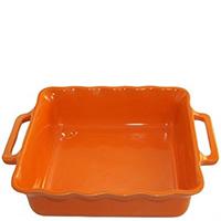 Форма квадратная Appolia Delices оранжевого цвета 34,5см, фото