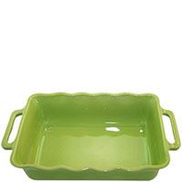 Большая прямоугольная форма для выпечки Appolia зеленого цвета, фото