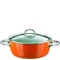 Оранжевая кастрюля Kochstar Neo 3,1л с крышкой, фото