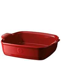 Красная форма для запекания Emile Henry Ovenware 1,8л, фото