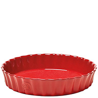 Красная форма для выпекания Emile Henry Ovenware 2,5л, фото