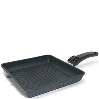 Сковорода-гриль SKK Titanium 2000 Non-Stick 24х24см со съемной ручкой, фото