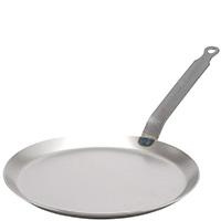 Сковорода для блинов De Buyer Carbone Plus из белой стали 24см, фото