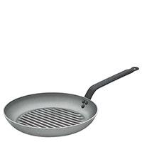 Сковородка De Buyer Carbone Plus 26см для гриля, фото