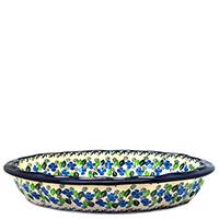 Форма для запекания Ceramika Artystyczna с волнистым краем, фото