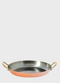 Сковородка с двумя ручками De Buyer Inocuivre овальная 32см, фото