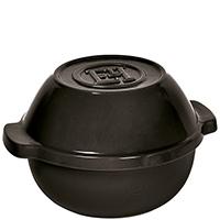Горшочек для овощей Emile Henry Cookware черного цвета, фото