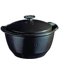 Кастрюля Emile Henry Cookware черного цвета 2л, фото