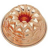 Форма для выпечки пирога Ruffoni Stampi из меди 23cм, фото