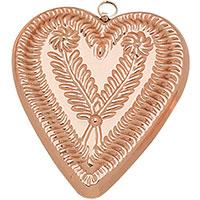 Форма для выпечки Ruffoni Stampi в форме сердца 14,5x12см, фото