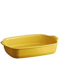 Форма для запекания Emile Henry 36x23см желтого цвета, фото