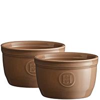 Набор порционных форм Emile Henry Ovenware коричневого цвета, фото