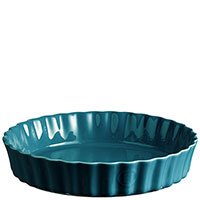 Форма для пирога Emile Henry Ovenware синего цвета, фото
