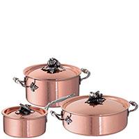 Набор посуды Ruffoni Opus Cupra из 6 предметов, фото