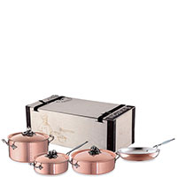 Набор посуды Ruffoni Opus Cupra из 7 предметов, фото