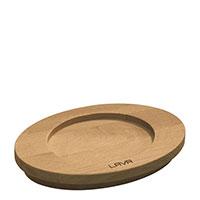 Подставка-блюдо Lava Wooden Platter and Stands для кастрюли, фото