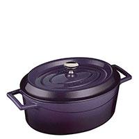 Кастрюля Lava Folk фиолетового цвета 20х25х9,4 см, фото