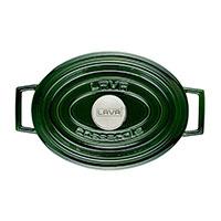 Кастрюля Lava Premium зеленого цвета 21х27 см, фото