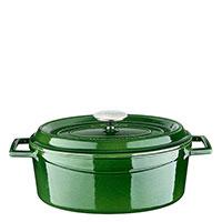 Кастрюля Lava Premium зеленого цвета 23х29 см, фото