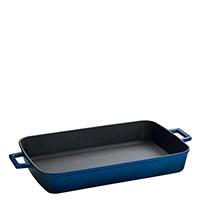 Форма для запекания Lava Roaster синего цвета с ручками, фото