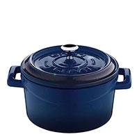 Кастрюля Lava Trendy синего цвета 10х5,6 см, фото