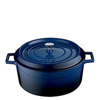 Кастрюля Lava Trendy синего цвета 20х10 см, фото