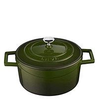 Кастрюля Lava Folk зеленого цвета, фото