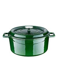 Кастрюля Lava Premium зеленого цвета диаметром 28 см, фото