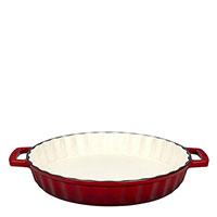 Форма для выпечки пирога Lava Dishes красного цвета, фото