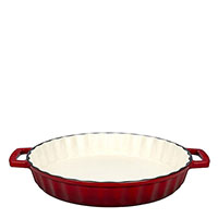 Форма для запекания Lava Dishes красного цвета, фото