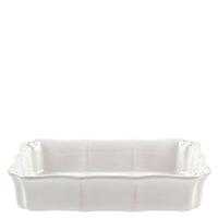 Форма для выпекания Costa Nova Barroco белого цвета 30х22см, фото