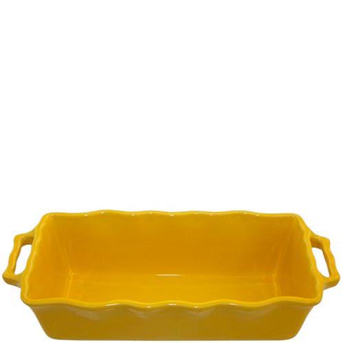 Форма для кекса Appolia желтого цвета из керамики 33см х 13.5см, фото