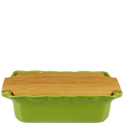 Форма для выпечки Appolia с крышкой-дощечкой из бамбука, фото