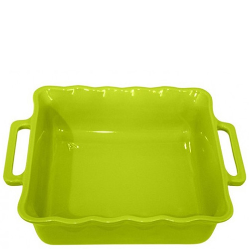 Форма квадратная Appolia Delices зеленого цвета 34,5см, фото