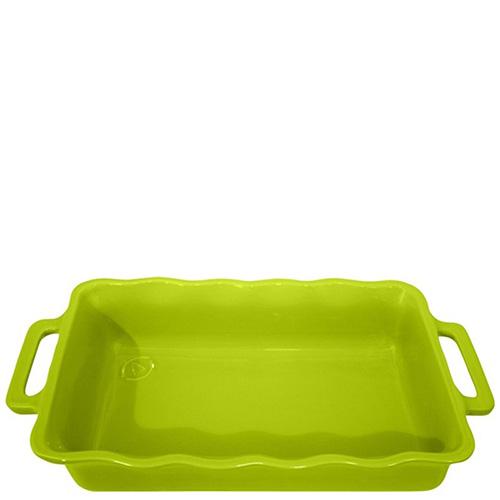 Форма прямоугольная Appolia Delices зеленого цвета 27,5х17,6см, фото