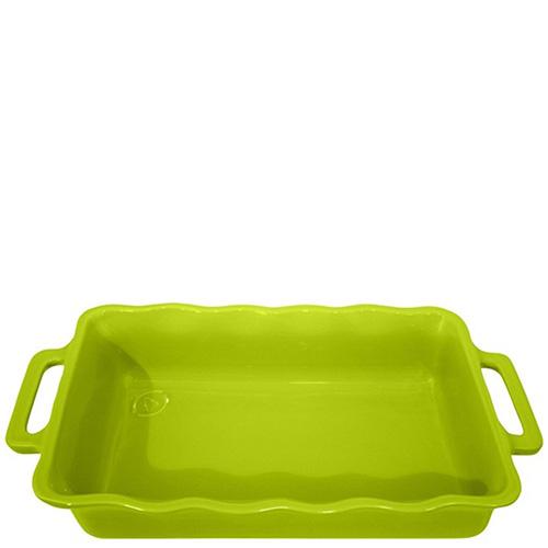 Форма прямоугольная Appolia Delices зеленого цвета 34,5х20,4см, фото