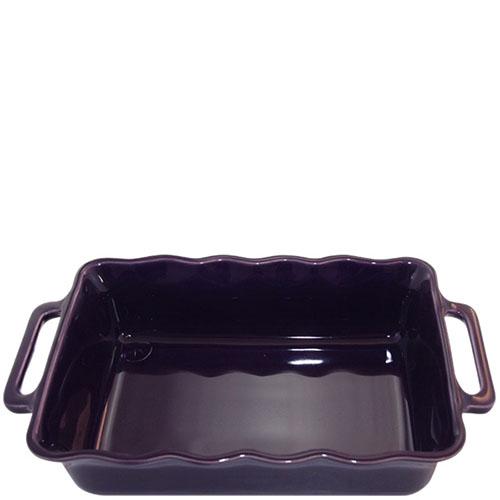 Керамическая прямоугольная форма для выпечки Appolia фиолетового цвета, фото