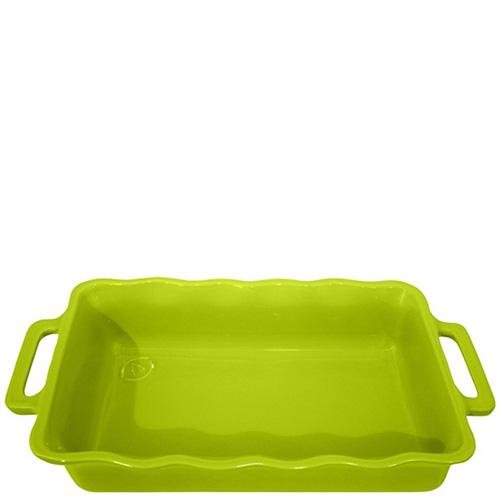 Форма прямоугольная Appolia Delices зеленого цвета 37,5х23,8см, фото