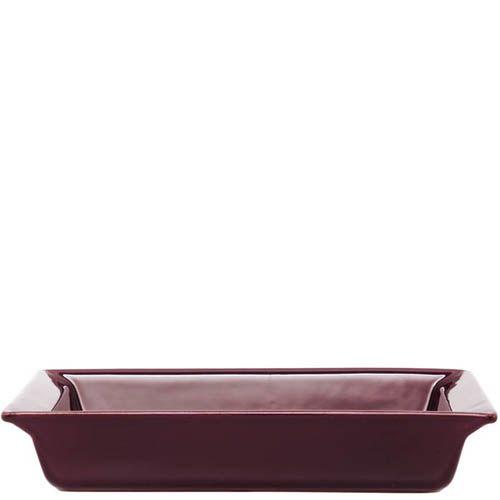 Форма прямоугольная Emile Henry Urban Colors Figue из керамики с прочным покрытием, фото